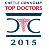 Jacksoneye's Castle Connolly Top Doctors 2015 badge