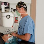 Dr. Jackson performing LASIK Surgery in Lake Villa, Chicago IL