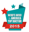 Jacksoneye's Who's Who in America top doctor 2015 badge